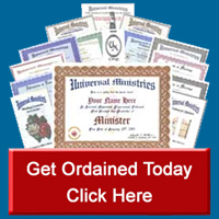 Get Ordained Today
