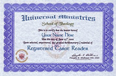 Registered Degrees